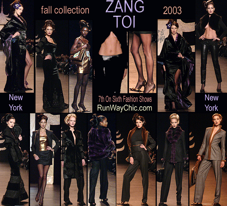 Zang Toi Fall 2003