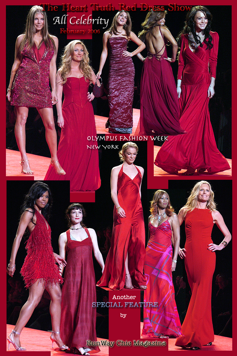 Heart Truth Red Dress Collection Fall 2006