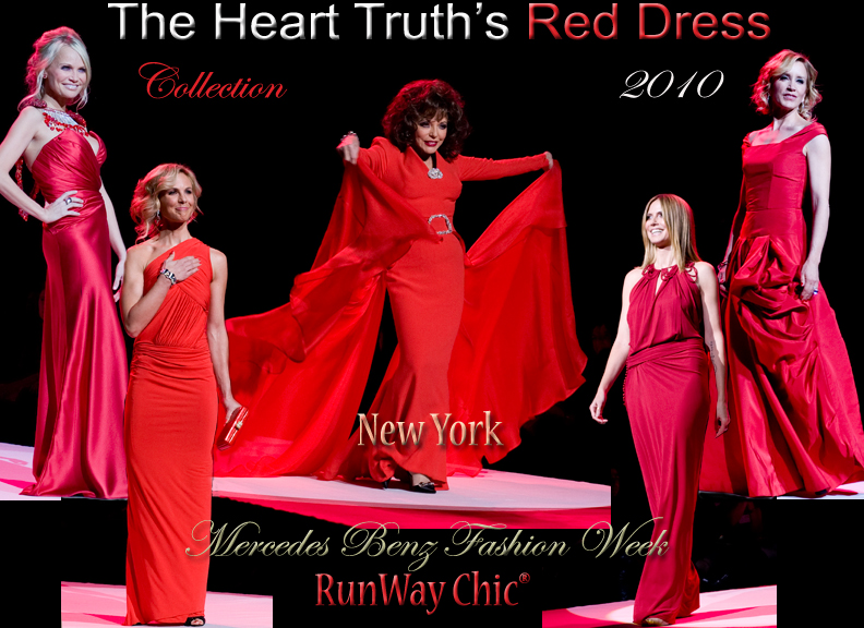 Heart Truth Red Dress Collection Fall 2010