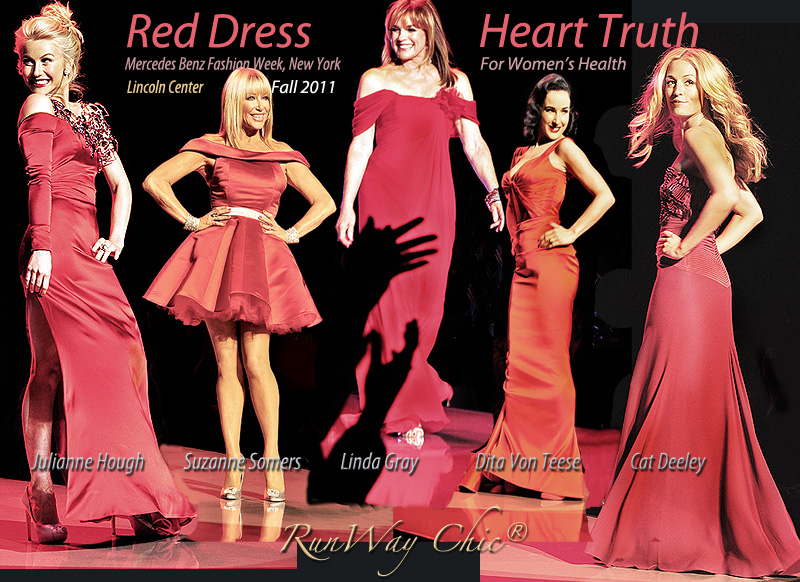 Heart Truth Red Dress Collection Fall 2011