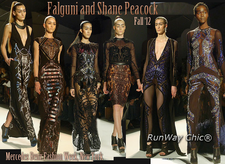 Falguni And Shane Peacock Fall 2012