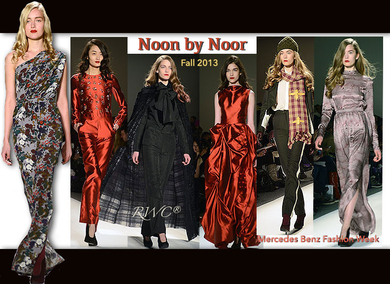 Noon by Noor Fall 2013