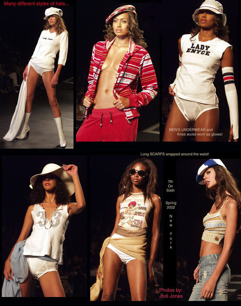 Lady Enyce Spring 2002